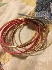 New gold and pink bangles Washington, 20008
