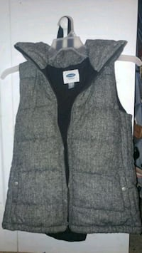 Gray old navy xs winter vest Plant City