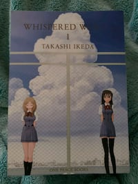 Whispered Words vol 1 by Takashi Ikeda Olympia, 98513