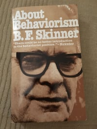 B. F. SKINNER About behaviorism Madrid, 28020