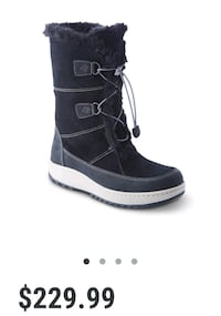 New Sperry powder Valley artic grip winter boots 777 km