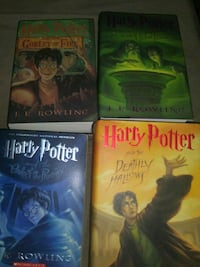 Harry Potter Hardback-Price Negotiable