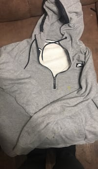 gray and black zip-up hoodie Charleston, 25302