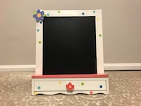 Art Easel Easel Two-Sided Whiteboard&Chalkboard with brush boxes 32 km