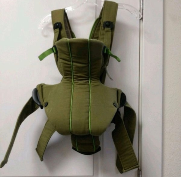 Baby Bjorn Olive Green Carrier Active Back Support Lumbar