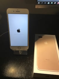 Guld iphone 7 plus 128 GB