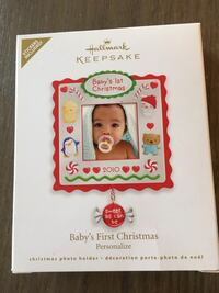 Hallmark keepsake ornament- 1st Christmas 2010 Vaughan, L6A 4P6