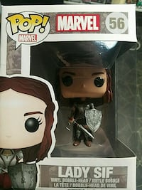 Pop Marvel 56 Lady Sif vinyl figure with box Indianapolis, 46113