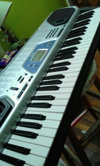 white and black electronic keyboard Queens, 11372