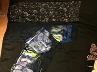 2 yoga half pants and shorts Mount Forest, N0G 2L3