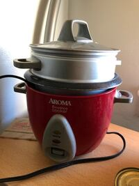 6 cup Aroma rice cooker with steamer on top Los Angeles, 90037