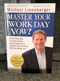 Master Your Workday Now! Hardcover Book Del Mar, 92014