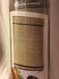 Bamboo Blinds for window.  New Vaughan, L4L 5G6