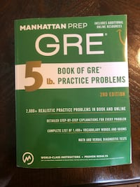 5 lb. Book of GRE Practice Problems by Manhattan Prep Coquitlam, V3K