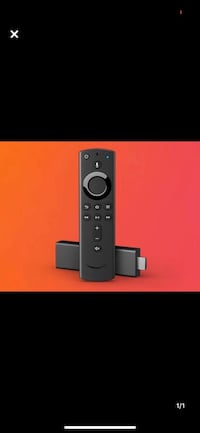 1 fire stick / remote / used for about 6 months