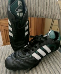 pair of black-and-white Adidas cleats Modesto, 95354