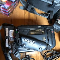 Sony Handicam  8mm video camera - perfect condition - all accessories included  Secaucus, 07094
