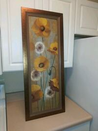 Beautiful Bronze/yellow floral pic Norcross
