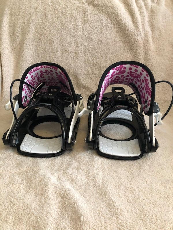 FLOW Muse Snowboard Bindings Size Large 0