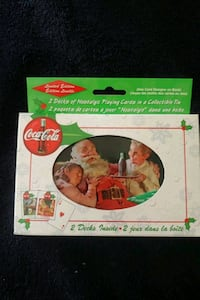1999 Coca Cola Santa Playing Cards Mississauga, L4Z 1W3
