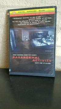 Paranormal Activity digital surround sound DVD case Sacramento, 95835