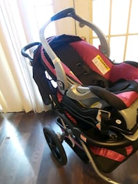 black and red jogging stroller Chesapeake, 23320