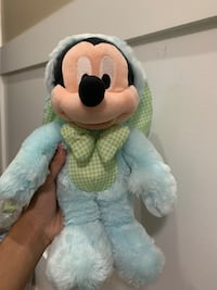 Cute Easter Mickey Mouse Plush Disney store Official 12 inch