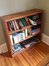 Solid wood bookshelf. 36 x 36 and 10 inches deep.  New York, 10301