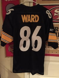 Pittsburgh Steelers Jersey Size 50 (Lg) Bristow, 20136