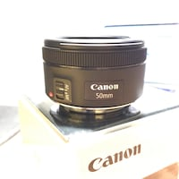 Canon 50mm 1.8 STM II comme neuf  789 km