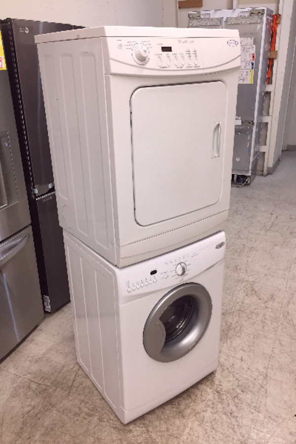 Used 24 inch Front Load Washer and Dryer Stackable ...