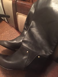 Leather boots/size 7.5 Avenel, 07001