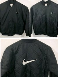 Nike 3XL Black Quilted Reversible Bomber Jacket Vancouver, V5X 1Y8