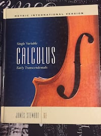 Calculus 6th Edition  East St. Paul, R2E