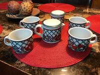 Red, white, and blue Nordic Garden Porcelain McAllen, 78504