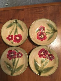 Ambiance handmade small plates- like for salsa or dip Palmdale, 93552