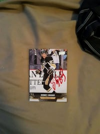 black and white sidney crosby player trading card Edmonton, T5T