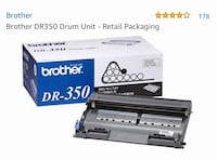 Brother DR-350 drum unit new and unopened Aventura, 33180