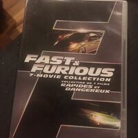 Never used fast & furious DVD collection