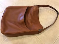 Coach brown real leather hobo bag Great Falls, 22066