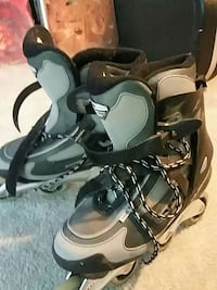pair of black-and-green size 11 in line skates Woodbridge, 22192