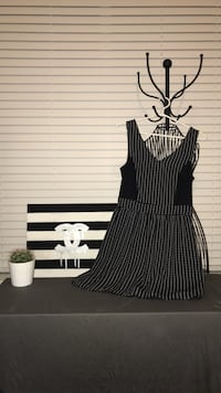 Black & White Patterned Dress Abbotsford