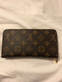 Black and brown louis vuitton leather wallet Mississauga, L5H 4B3