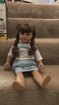 American girl doll with clothes