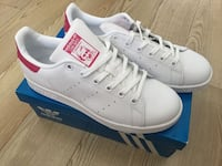 New Adidas Originals Stan Smith Sneakers Shoes Size 6 8 8.5 Pink Toronto