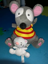 Toopy and Binoo plush toys. Mississauga, L5R