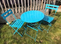 Metal Outdoor Table & Chair Set Ajax, L1T 0A5