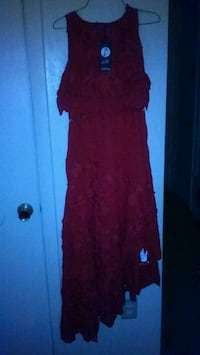 Asymmetrical lace dress new with tags Spring Lake, 28390