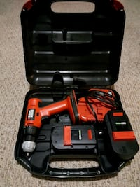 red and black cordless power drill Guelph, N1H 6S1