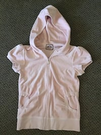 Juicy Couture Puff Sleeve Velour Hoodie  Oshawa, L1K
